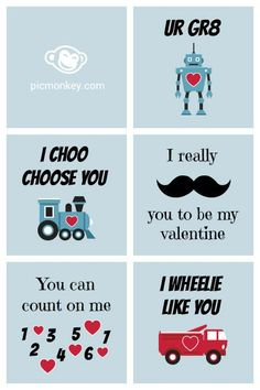 Make your own Valentine's day cards #Picmonkey #Pinyourlove