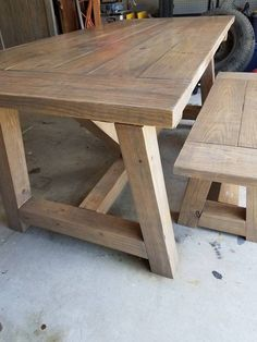 Extension Dining Table Plans Best Of Farmhouse Style Table Farmhouse Table Rustic Table Concrete Top Dining Table, Reclaimed Wood Dining Table, Rustic Wood Furniture, Primitive Furniture, Wood Table, Deck Table, Table Bench, Distressed Furniture, Dining Bench