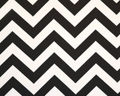 Zig Zag Black by Premier Prints.  This zag is so bold. Awesome.