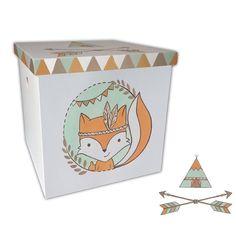 Χειροποίητος ξύλινος λευκός κύβος ζωγραφισμένος με Ινδιάνικο θέμα με σκηνή, βέλη και αλεπού σε πορτοκαλί καφέ και βεραμάν αποχρώσεις. Αυτό το πολύχρωμο κουτί είναι η απόλυτη τάση φέτος και θα δώσει μια χαρούμενη και μοντέρνα πινελιά στη διακόσμηση της βάπτισης σας και αργότερα μια σύγχρονη διάσταση στη διακόσμηση του δωματίου ως κουτί αποθήκευσης.  Διαστάσεις: 37x37x37cm #indian #fox #κουτίβάπτισης #βάπτιση #vaptisi #boho #style #modern Playing Cards, Container, Playing Card Games, Game Cards, Playing Card