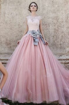 Spring New Arrival Long Pink Prom Dresses Ball Gowns For Women Party 2016 Cap Sleeved Custom