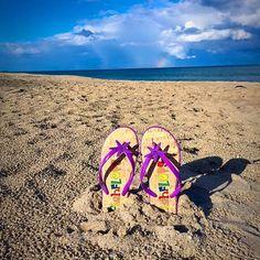 Flip Flops, Dads, Rainbow, Sandals, Beach, Shoes, Rain Bow, Rainbows, Shoes Sandals