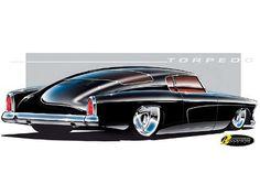 "1953 Studebaker Torpedo ""dream car"""