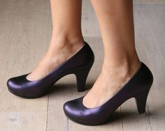 PURPLE. <3 <3 <3 this brand of shoes!!!! Chie Mihara