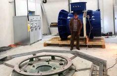 Στήθηκε και τελειώνει σύντομα το υδροηλεκτρικό εργοστάσιο του ΤΟΕΒ Βελβεντού