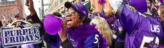 Baltimore Ravens | Ravenstown | Purple Fridays