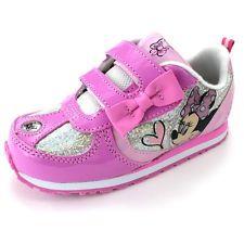 Minnie Mouse Niñas Rosa Iluminada Zapatillas Zapatos mn7076ail3 7 8 9 10 11 12