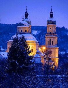Die Basilika St. Lorenz  Kempten (Allgäu), Bayern