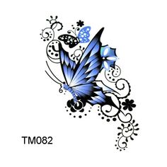Mind Blowing Butterfly Tattoo Design