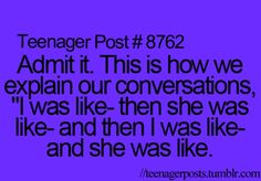 Hahfhsxizdhoiashdfiugaused that's how I was laughing when I saw this :) lol its so weird how these are so true
