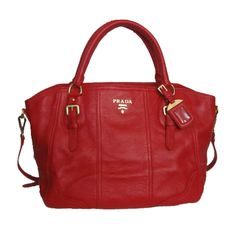 Red Prada bag my-style