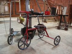 Vintage tricycle from the Mercantic flea market in Barcelona