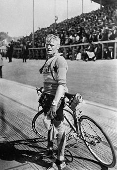 Belgian cyclist Maurice De Waele, winner of the Tour de France in 1929