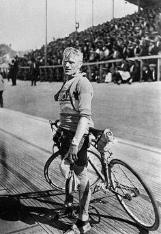 Belgian cyclist Maurice De Waele, winner of the Tour de France in 1929