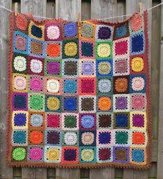 dutch sisters: Crochet Retro Block Pattern