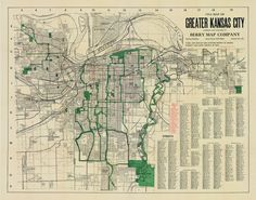 Kansas City Road Map on colorado map 1950, chicago map 1950, nyc map 1950, san diego map 1950, los angeles map 1950, ohio map 1950,