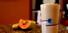 Thick Tropical Smoothie Recipe with Papaya
