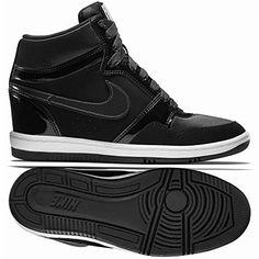 b200d5ff542 Nike Dunk Sky Hi Essential Wom en s Shoes. Featuring a concealed wedge  heel