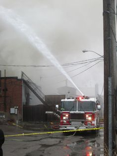 Photos: Firefighters battle downtown Whitby blaze