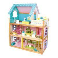 Dřevěný domeček pro panenky Residence