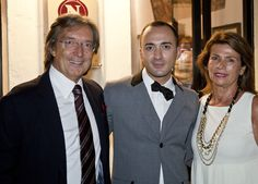 Paolo and AnnaMaria Vranjes with Luigi Correra