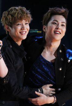 Lu Han and Xiumin