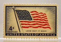 It's a grand ole flag ... flying on stamps and more! - Perfect Postage