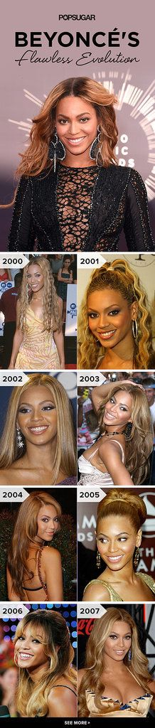 80+ Pictures That Prove Beyoncé Has Changed a Lot, but Not Really at All