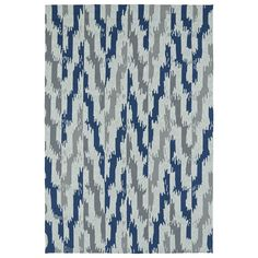 Kaleen Rugs Seaside Blue Indoor/Outdoor Rug
