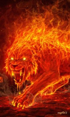 Unleash the beast Fogo Gif, Tiger Artwork, Flame Art, Lion Wallpaper, Skull Wallpaper, Mythical Creatures Art, Lion Art, Dark Fantasy Art, Fractal Art