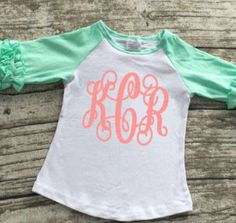 Monogrammed Icing Ruffle Raglan Toddler Girl Clothes Personalized Gift Girl's Easter Shirt Girl's Clothes Toddler Clothing Easter Hunt Shirt by SimplySweetJBoutique on Etsy
