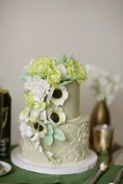 Luck of the Irish Mini Wedding Cake by Sugar Flower Cake Shop