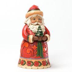✿Santa Figurine✿ Christmas Cheer Given Here-Pint-Sized Santa Figurine