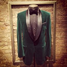 For a not so saucy St Patty's day soirée l Nicholas Joseph Custom Tailors l www.customsuitsyo... l Chicago, IL l USA
