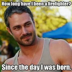 Taylor Kinney from Chicago Fire Chicago Med, Chicago Fire, Cops Tv, Chicago Justice, Chicago Shows, Taylor Kinney, Great Tv Shows, Hot Actors, Big Bang Theory