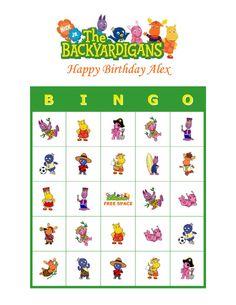 The backyardigans hopscotch