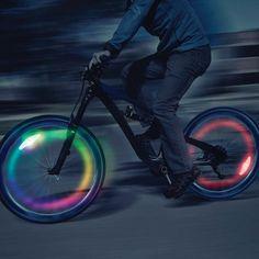 NITE IZE SpokeLit Neo Multi Color|車輪のスポークに挟み込むLED「スポークリットネオマルチカラー」【2016年11月以降】 - ガジェットの購入なら海外通販のRAKUNEW(ラクニュー)