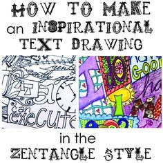 Drawing Exercise #ArtJournal #Zentangle