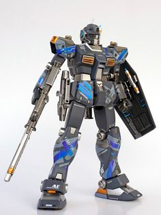 "Custom Build: MG 1/100 RGM-79C Gundam TypeC ""NightBender"" - Gundam Kits Collection News and Reviews"