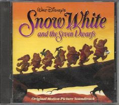 Snow White and the Seven Dwarfs Soundtrack CD from Walt Disney's Movie