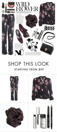 Flower Power/Nu-Denmark by helenevlacho on Polyvore featuring Bobbi Brown Cosmetics, 3.1 Phillip Lim, women's clothing, women's fashion, women, female, woman, misses, juniors and #nudenmark