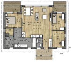 House Floor Plans, My Dream Home, Beach House, Sweet Home, Windows, Flooring, How To Plan, Architecture, Design