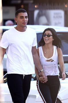 #kourtney #younes #streetstyle #couple #kardashian