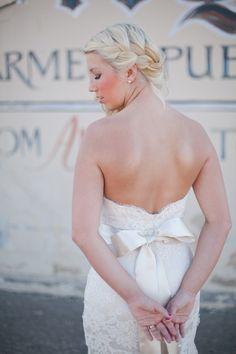 Lace & Coral Farmers Market Wedding - Bridal Musings Wedding Blog