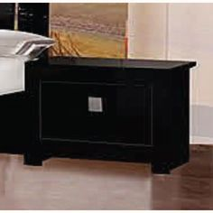 Features:• Stylish 1 drawer black high gloss bedside cabinet • Stunning piece of furniture with storage space• Constructed with quality & long life in mind• E...