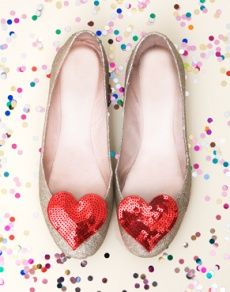 it would be a great idea to buy sequin embellishments for shoes #craft