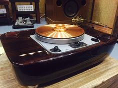 Hammertone Audio Grail Garrard 301 In its new Home in HK