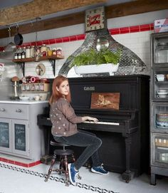 Rock Star Neko Cases's Farmhouse Kitchen | Kitchn