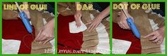DIY: Tutorial for a no sew ruffle tree skirt & what $5 in burlap can do
