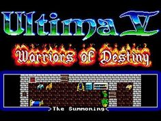 AtariCrypt: Ultima V: Warriors of Destiny Apples To Apples Game, Happy Birthday Greetings, Summoning, Gaming Computer, Pixel Art, Destiny, Warriors, Neon Signs, Lord
